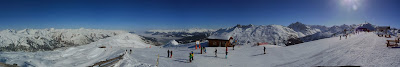Panorama of Three Valleys Piste