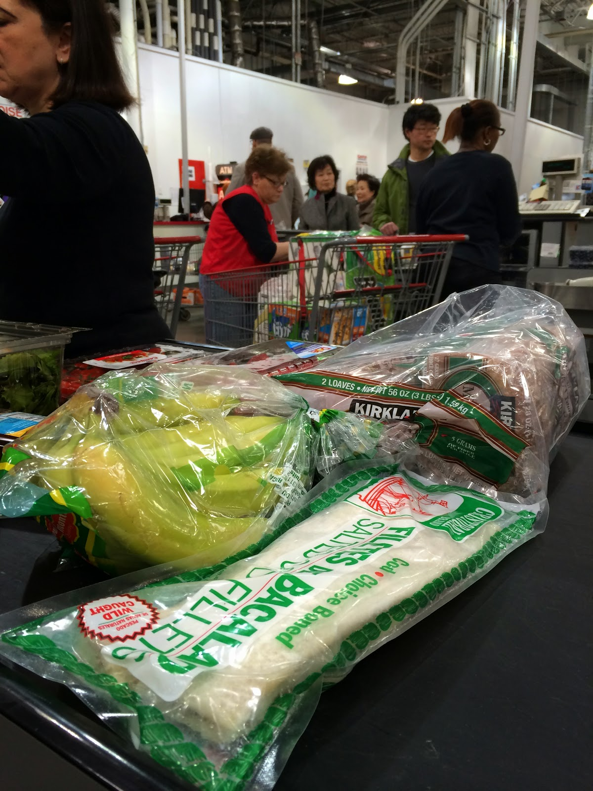 1113b9ec243c3 At Costco in Hackensack on Friday afternoon, my haul included 3 pounds of  bananas ($1.39), 2 pounds of salted cod-fish fillets from Canada ($11.99),  ...