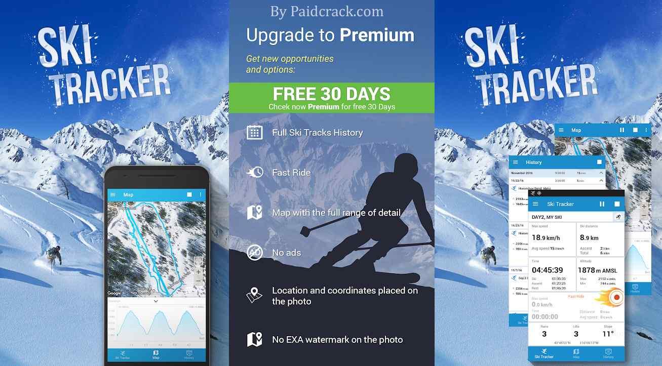 Ski Tracker Premium Mod Apk 2.3.01