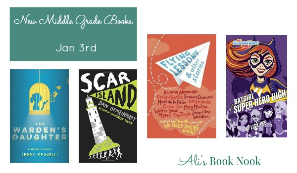 Exciting and diverse middle grade books published january 3