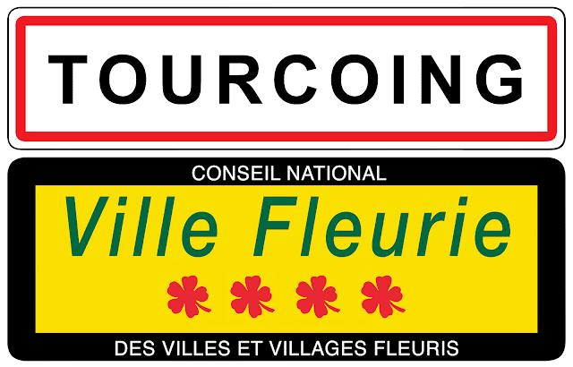 Tourcoing Ville Fleurie 4 fleurs