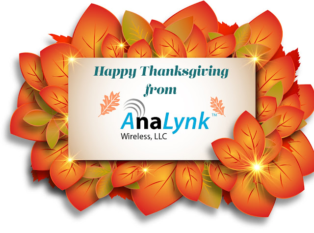 Happy Thanksgiving from Analynk Wireless