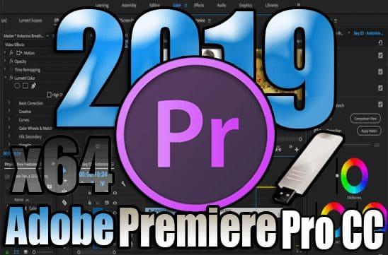 تحميل برنامج Adobe Premiere Pro CC 2019 Portable نسخة محمولة مفعلة بحجم صغير