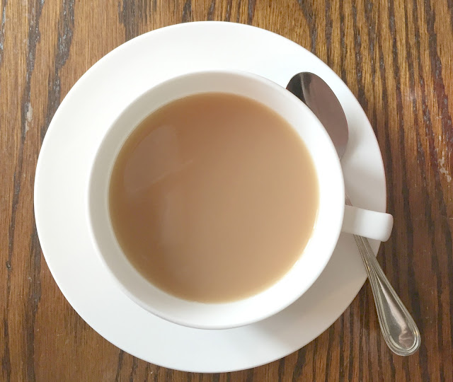 Teacup Of English breakfast tea at St Mary's Inn Morpeth