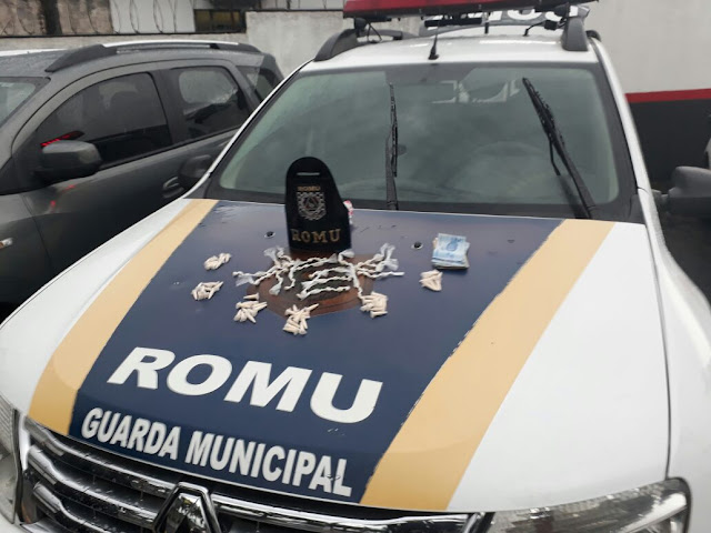 ROMU JANDIRA - Ocorrência de tráfico de drogas