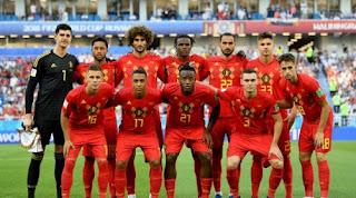 Belgia ke Babak 16 Besar Piala Dunia sebagai Juara Grup G