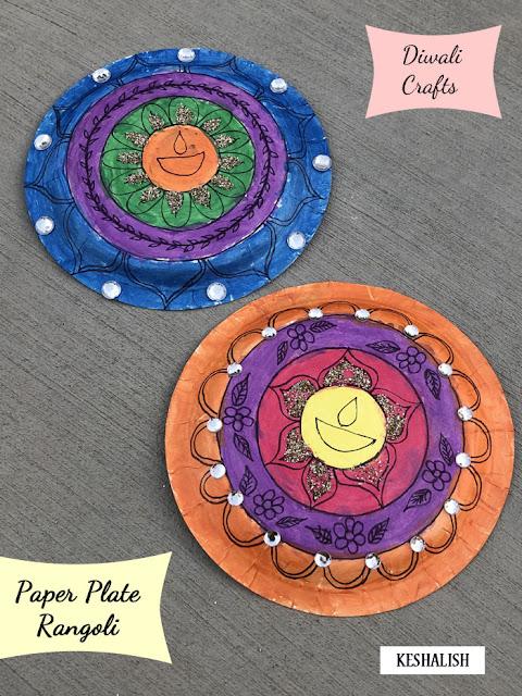 diwali-paper-plate-rangoli