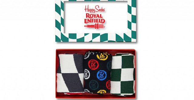 приложения к Royal Enfield Continental GT Happy Socks