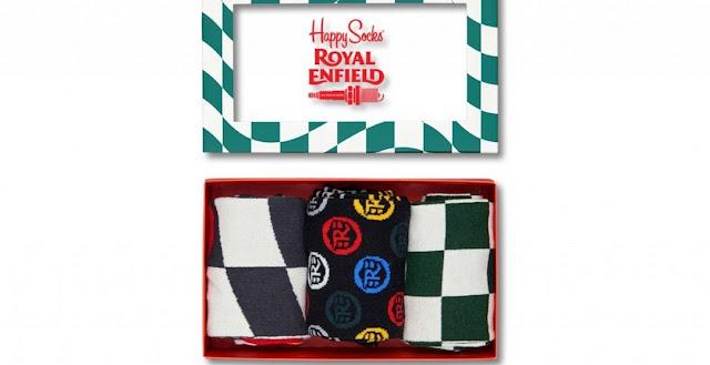 приложения к Royal Enfield Continental GT Happy Socks