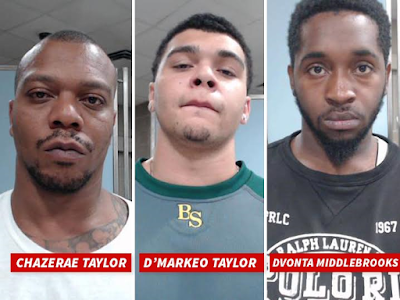 3Three arrested in connection with fatal shooting of Tyson Gay's teenage daughter