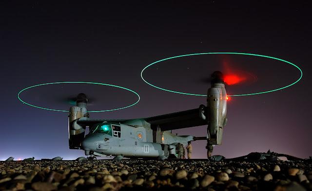 Helikopter MV 22 Osprey TNI