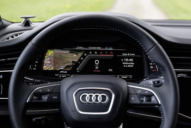 Audi SQ7 2021 V8 TFSI - interior