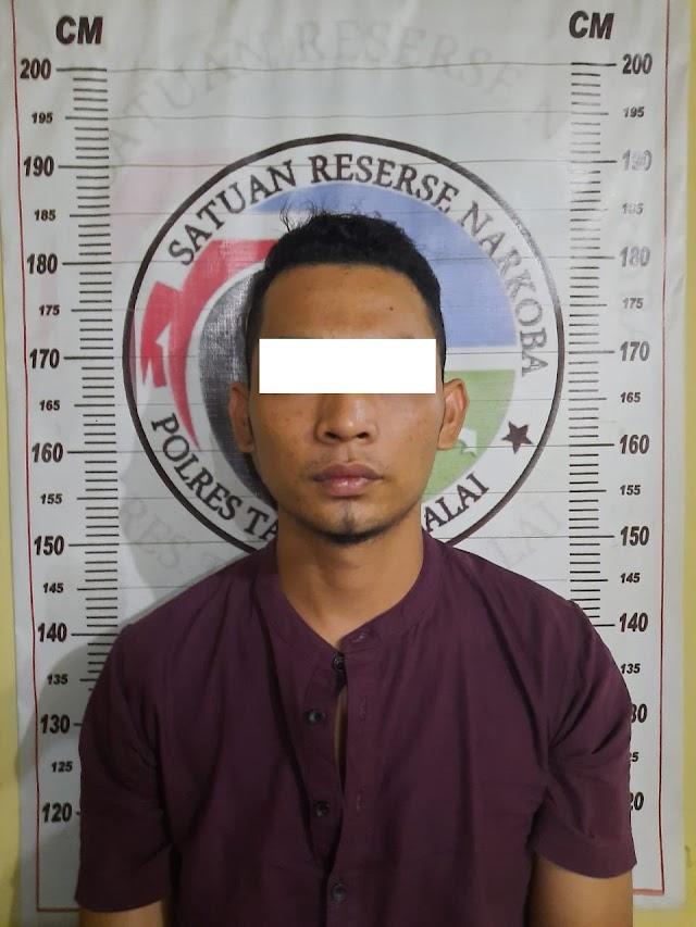 Transaksi Sabu, Warga Desa Bagan Asahan Diamankan Sat Res Narkoba Polres Tanjung Balai