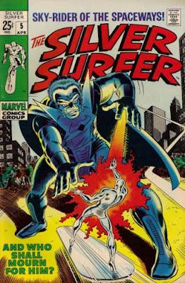 Silver Surfer #5, the Stranger