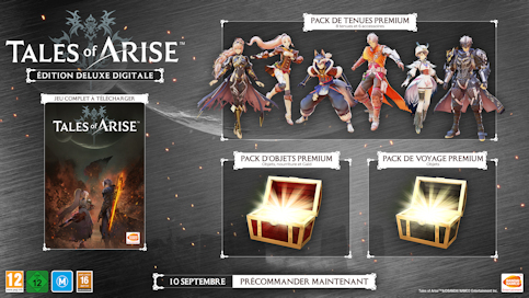 Edition Deluxe de Tales of Arise