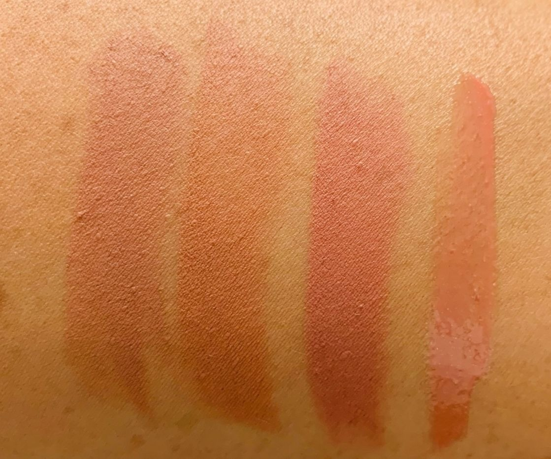 Review & Swatches: Inglot X Maura