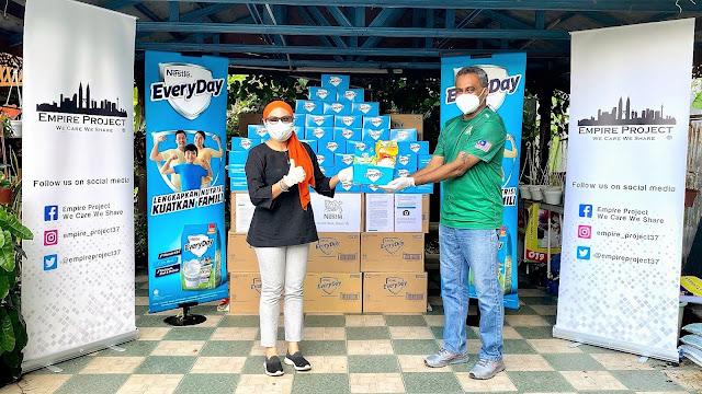 Nestlé EVERYDAY® bekerjasama dengan NGO untuk menyampaikan lebih 20,000 Pek 'Bekalan Nutrisi' kepada keluarga B40