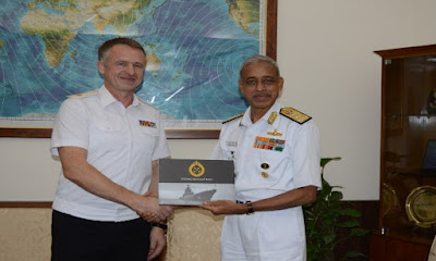 4th Indian Navy and Russian Federation Navy Staff Talks