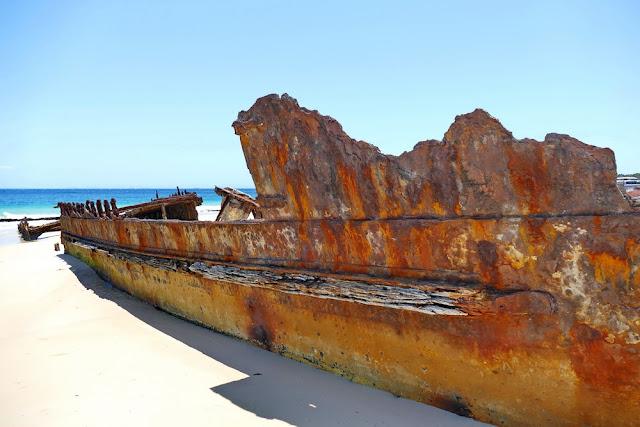 Bulwer Wrecks Schiffs-Wracks Moreton Island Wrack