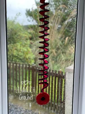 spiral crochet windspinner