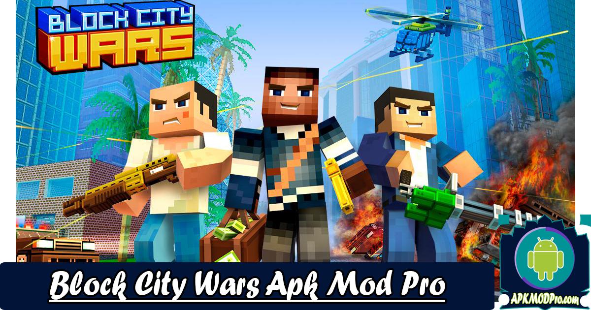 Download Block City Wars 7.1.5 Mod Apk (MOD Skins Export/Unlimited Money) Terbaru 2020