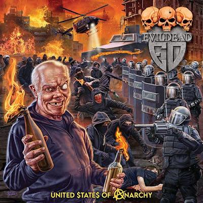 """Ο δίσκος των Evildead """"United $tate$ of Anarchy"""""""