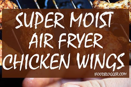 EXTRA CRISPY AIR FRYER CHICKEN WINGS