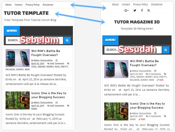 Premium Blogger templates 2017