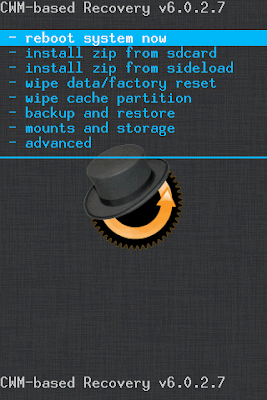Cara Buat CWM Recovery (ClockWorkMod) Menggunakan ROM MANAGER