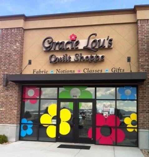 Beehive Shop Hop: Gracie Lou's Quilt Shoppe