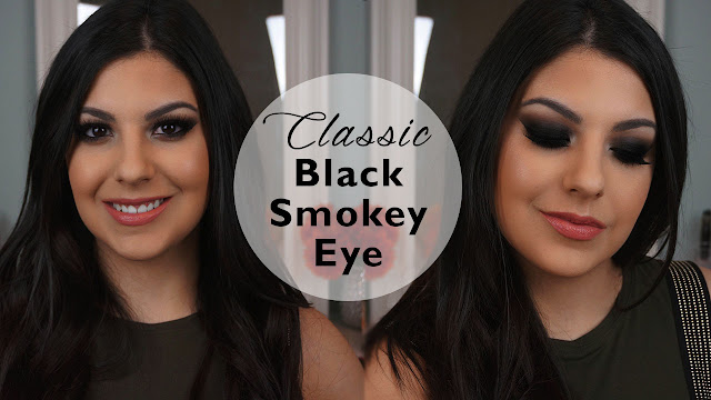 classic black smokey eye makeup tutorial