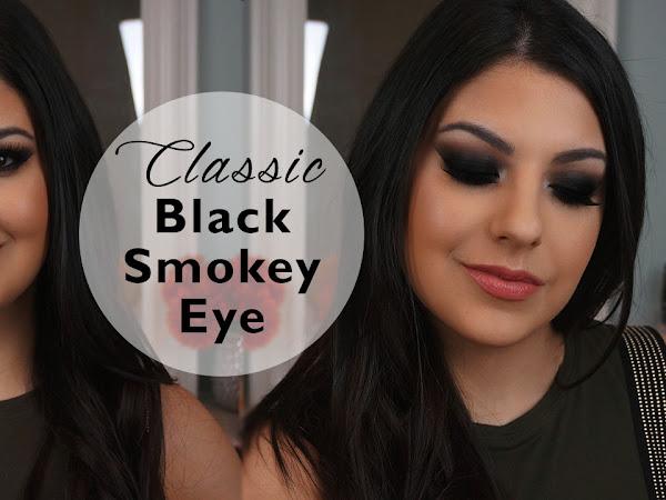 Classic Black Smokey Eye