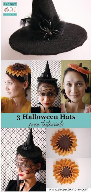 Halloween fascinators tutorial