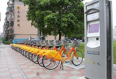 Teipei Youbike Station