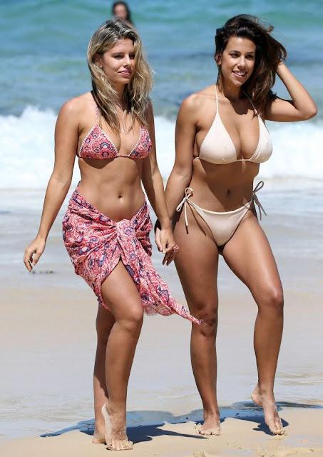 Natasha Oakley and Devin Brugman Bikini Photoshoot