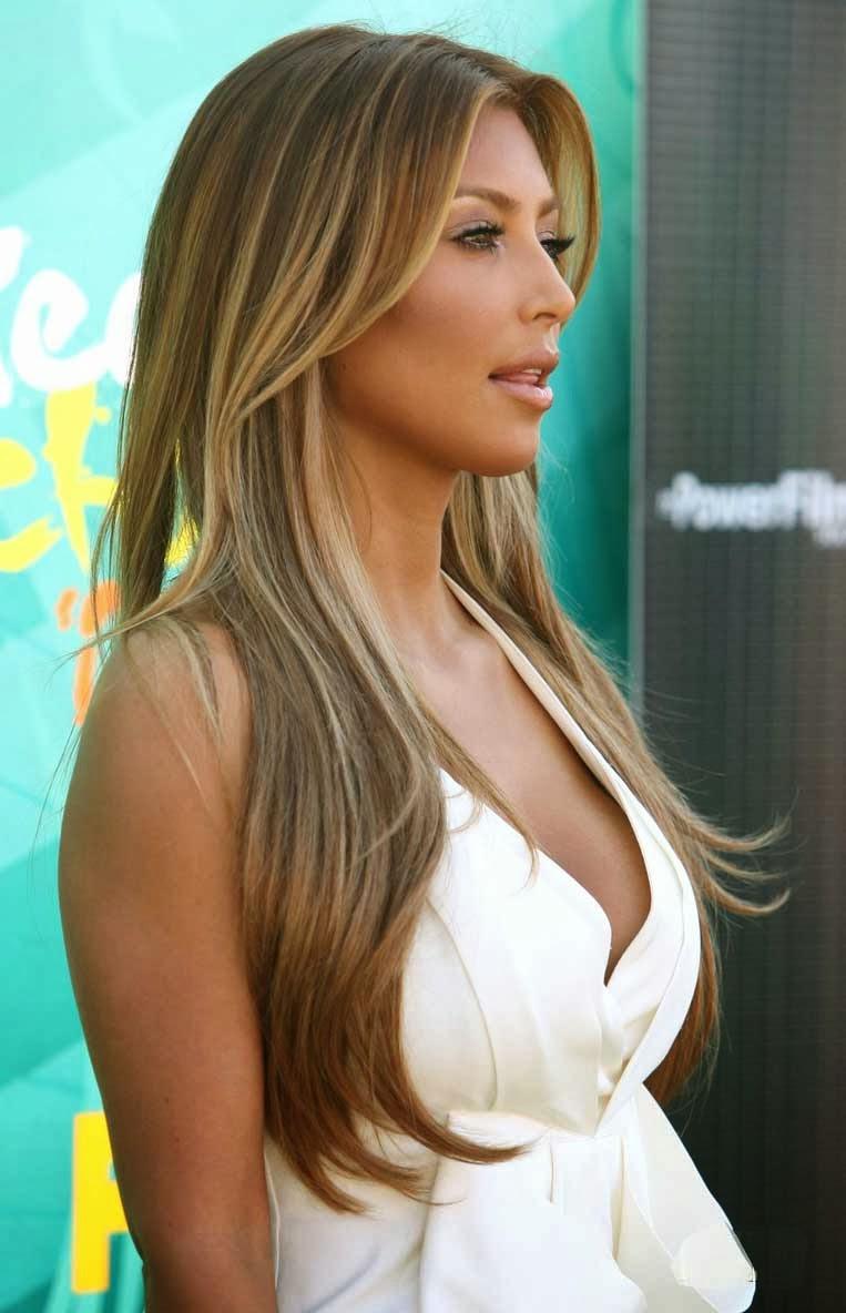 Kim Kardashian Blonde Hair 25