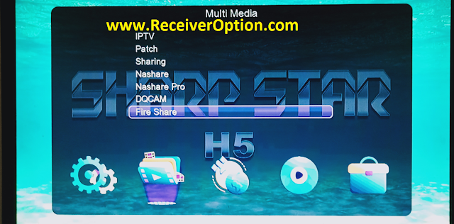 SHARP STAR H5 1506TV 512 4M NEW SOFTWARE WITH ECAST & FIRE SHARE OPTION