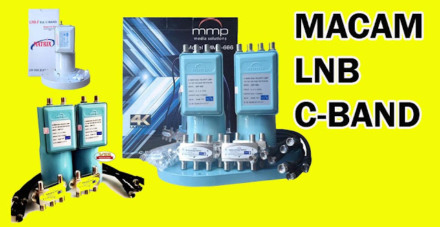 macam macam LNB C-Band 1 Port - 4 Port