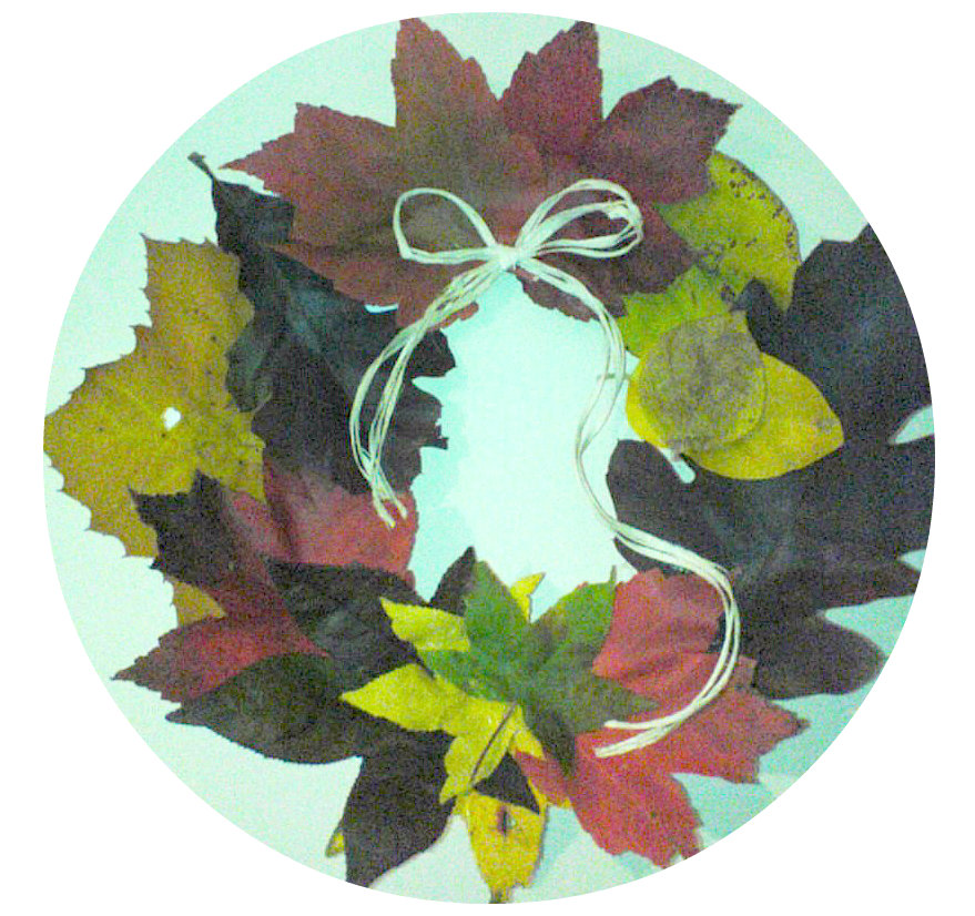 Fall Leaf: So easy to make. It turned out incredibly colorful and beautiful.
