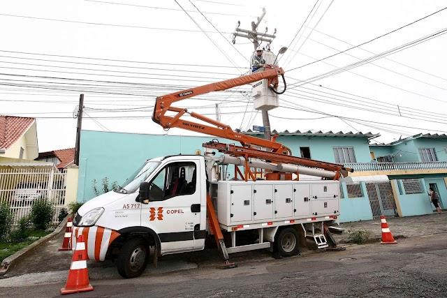 Copel vai deixar rua de Colombo sem luz para efetuar manutenção: Verifique onde e quando