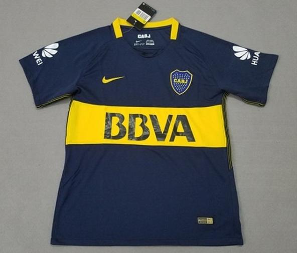 Boca Juniors 17-18 Nike Home Kit