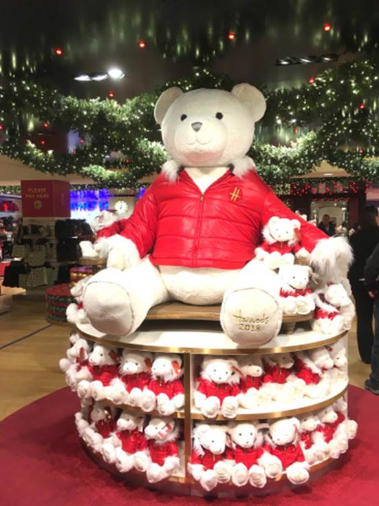 Harrods Christmas Shop