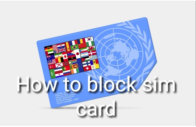 How to block sim card