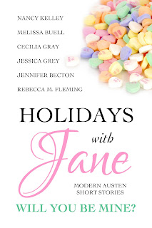 Book cover: Holidays with Jane - Will You Be Mine?
