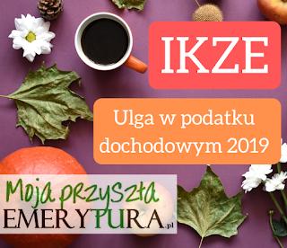 Ulga emerytalna IKZE 2019