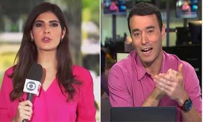 Novo casal na Globo: Andréia Sadi e André Rizek estão namorando