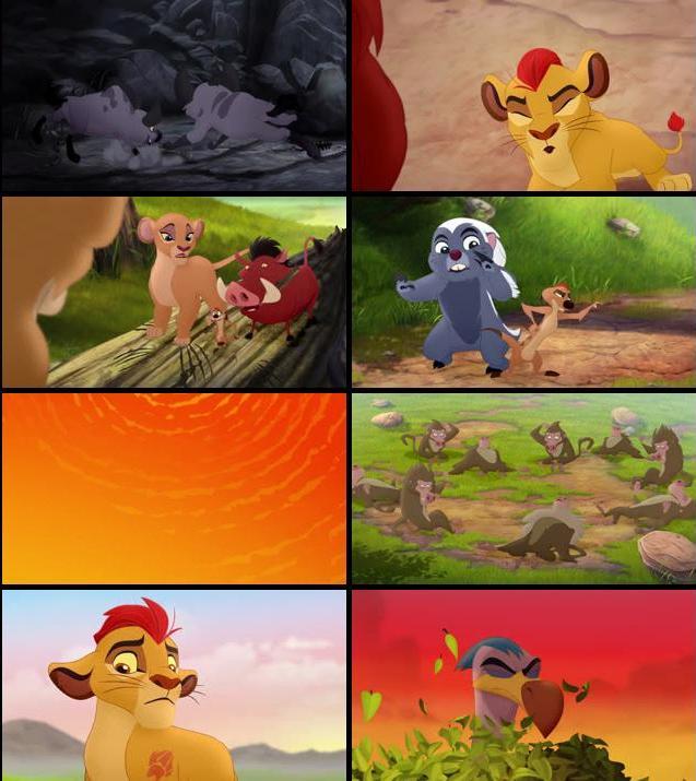 The Lion Guard Return Of The Roar 2015 Dual Audio Hindi 720p WEB-DL 350mb