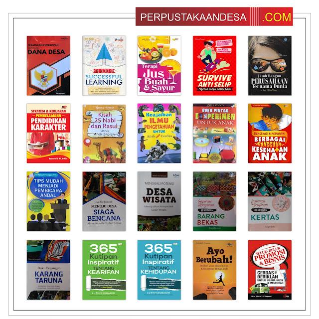 Contoh RAB Pengadaan Buku Perpustakaan Desa Kabupaten Pangkajene dan Kepulauan Provinsi Sulawesi Selatan Paket 35 Juta