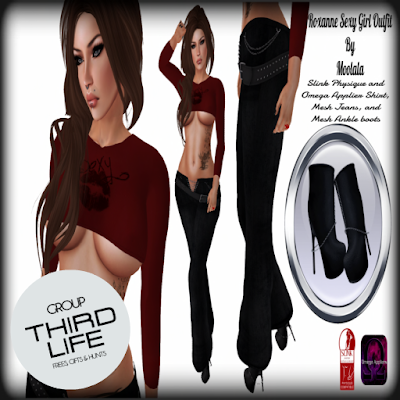 MOLALA - ROXANNE SEXY GIRL OUTFIT // THIRDLIFE EXCLUSIVE GIFT
