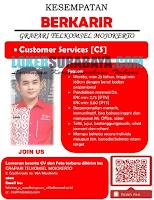 Lowongan Pekerjaan Terbaru di Grapari Telkomsel Mojokerto Juli 2019